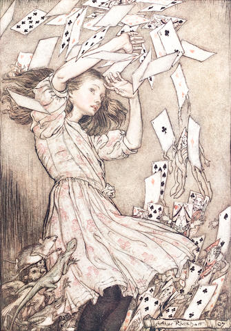 RACKHAM (ARTHUR) DODGSON (CHARLES LUTWIDGE) 'Lewis Carroll' Alice's Adventures in Wonderland, NUMBER 216 OF 1130 COPIES