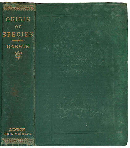DARWIN (CHARLES) The Origin of Species by Means of Natural Selection, 1884