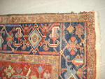 A Heriz carpet, North West Persia, 282cm x 203cm