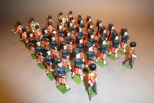 Britains Scots Guards Drums and Pipes 37