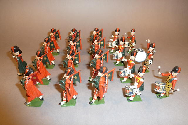 Britains set 2109, Highland Pipe Band of the Black Watch 20