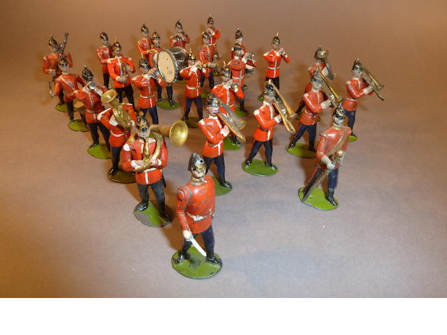 Full Band of the Northamptonshire Regiment 59