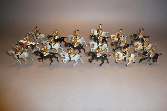 Britains set 101, Mounted Band of the Life Guards 58