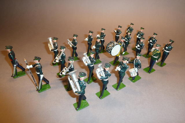 British Army Bands in No.1 dress 81