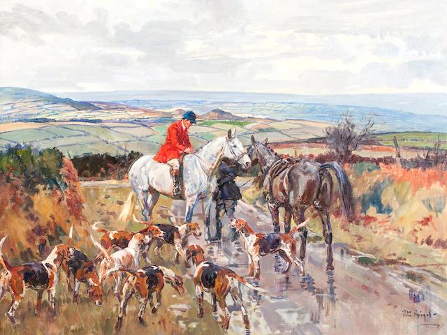 Peter Biegel (1913-1987) 'Changing Horses Kilkenny'