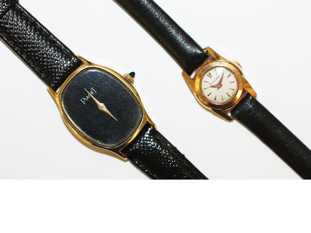Two lady's wristwatches,(2)