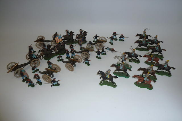 Britains plastic Eyes Right American Civil War 169