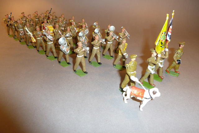 New Toy Soldier British Army Bands in Khaki 67