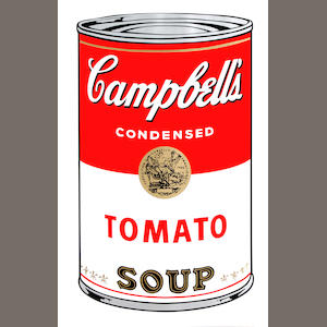 After Andy Warhol (American, 1928-1987) Campbell's Soup I The complete set of ten screenprints in colours, originally printed in 1969, each with the Sunday B. Morning stamp verso, the full sheets, each 890 x 585 (35 x 23)(SH)(10)(unframed)