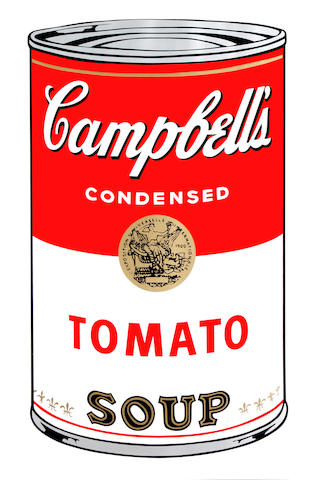 After Andy Warhol Campbell's Soup I The complete set of ten screenprints in colours, on stiff wove, each with the Sunday B. Morning stamp verso, the full sheets, each 890 x 585 (35 x 23)(SH)(10)(unframed)