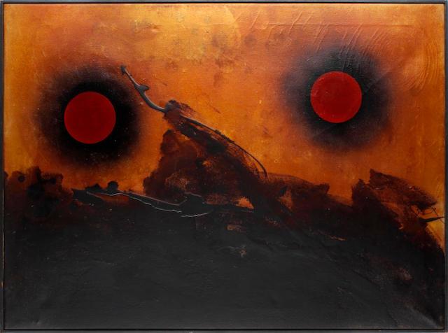 Denis Bowen (British, 1921-2006) 'Cosmic landscape'