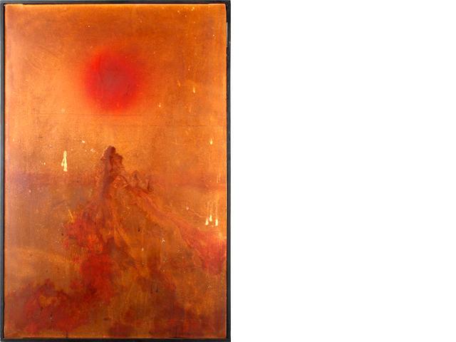 Denis Bowen (British, 1921-2006) 'Fluorescing pink'