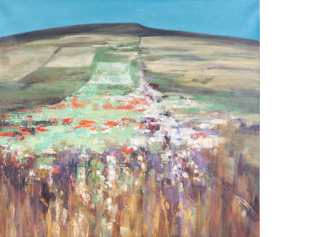 Perpetua Pope (British, born 1916) Poppy field