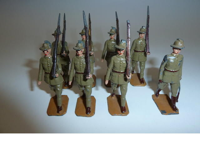 Britains set 1544, Australian Infantry 27
