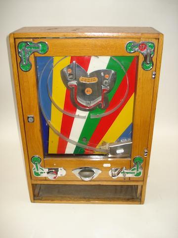 A Bryans U-Win wall machine,