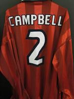 1998 France World Cup Sol Campbell England match issued shirt