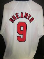 1998 France World Cup - Alan Shearer match worn England shirt