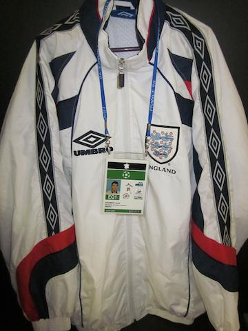 David Beckham France 1998 World Cup England tracksuit