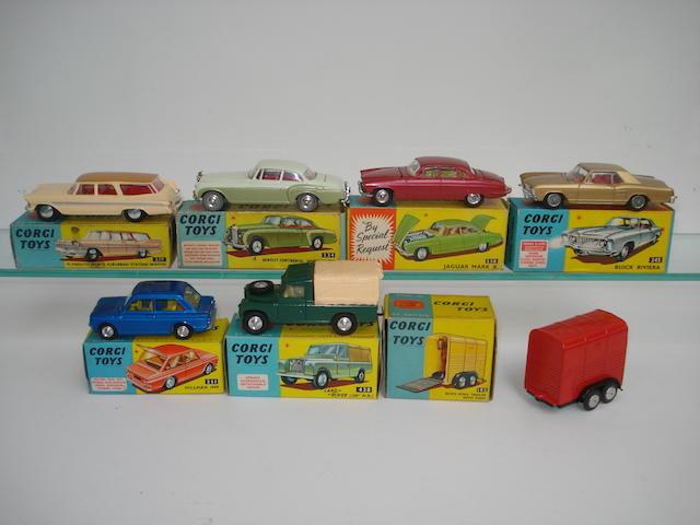 Corgi toys lot