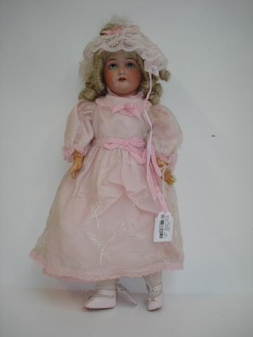 Schoenau & Hoffmeister bisque head doll