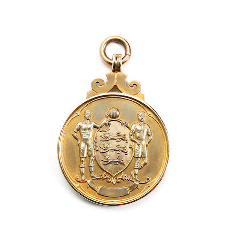 1964 F.A. Cup Winners Medal awarded to Jack Burkett of West Ham United