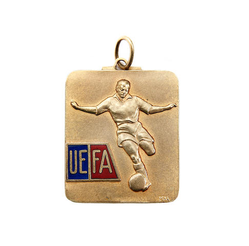 1965 European Cup Winners Cup medal awarded to Jack Burkett