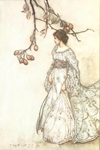 RACKHAM (ARTHUR) BARRIE (J.M.) Peter Pan in Kensington Gardens, 1906