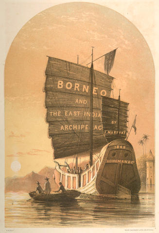 MARRYAT (FRANK S.) Borneo and the Indian Archipelago. With Drawings of Costume and Scenery, 1848