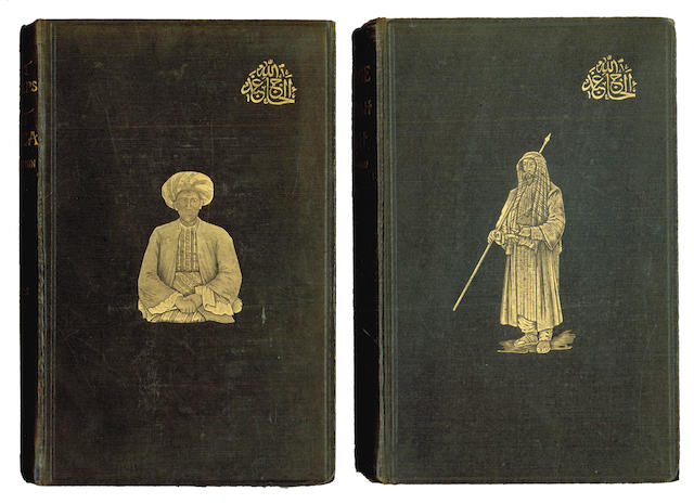 BURTON (FRANCIS) Personal Narrative of a Pilgrimage to Al-Madinah & Meccah, 2 vol., 1893; First Footsteps in East Africa or, an Exploration of Harar, 2 vol., 1894; A Mission to Gelele, King of Dahome, 2 vol.; and others (15)