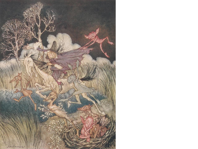 RACKHAM (ARTHUR) IRVING (WASHINGTON) The Legend of Sleepy Hollow, George G. Harrap, [1928]