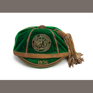 1936 Irish Football Association international cap