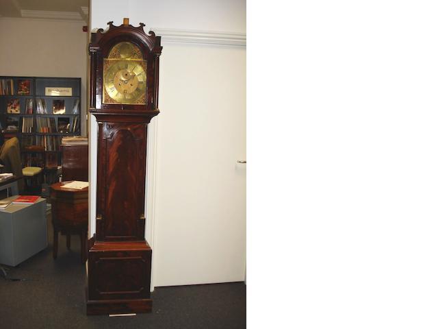 A George III mahogany longcase clock by Jno Brice, Sandwich,