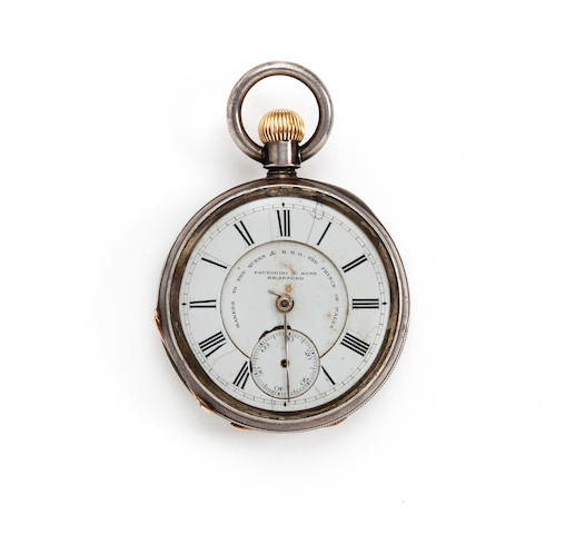 1885 Manningham F.C. (forerunners of Bradford A.F.C.) pocket watch presented to H.Archer