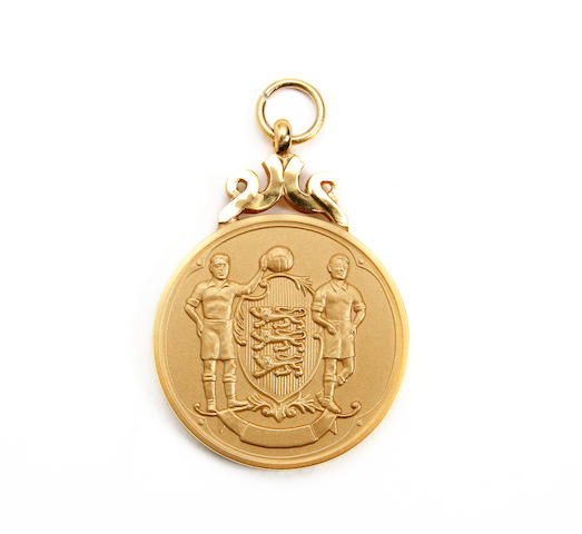 2004 F.A. Cup winners medal awarded to Manchester Uniteds Roy Carroll