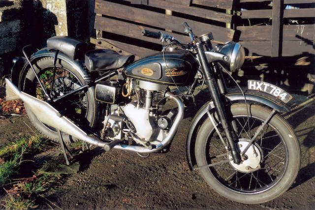 1947 Velocette  347cc MAC Frame no. MAC1006 Engine no. MAC1006