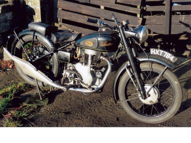 1947 Velocette 350cc Mac Frame no. 1006 Engine no. MAC 1006