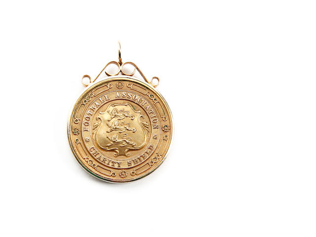1948 Charity Shield winners medal awarded to Arsenal's A.R.MACAULAY