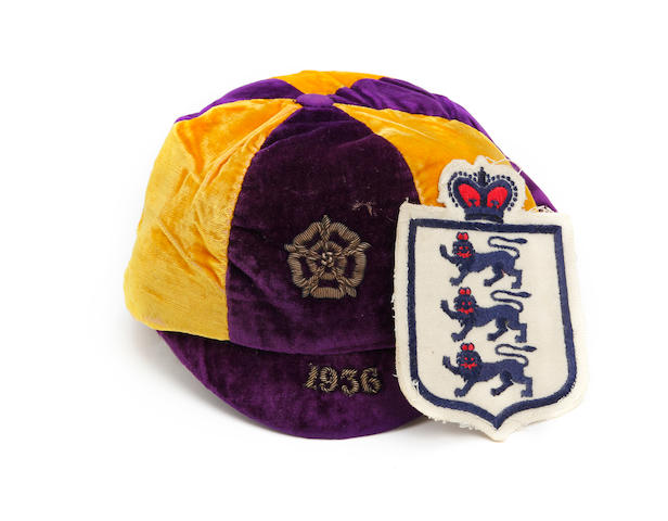 1936 England international cap awarded to Chelsea's Dick Spence