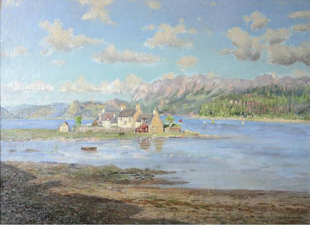 William Arthur Laurie Carrick (British, 1879-1964) June Afternoon, Plockton