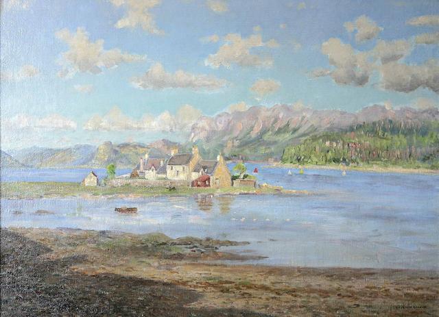 William Arthur Laurie Carrick (British, 1879-1964) June Afternoon, Plockton