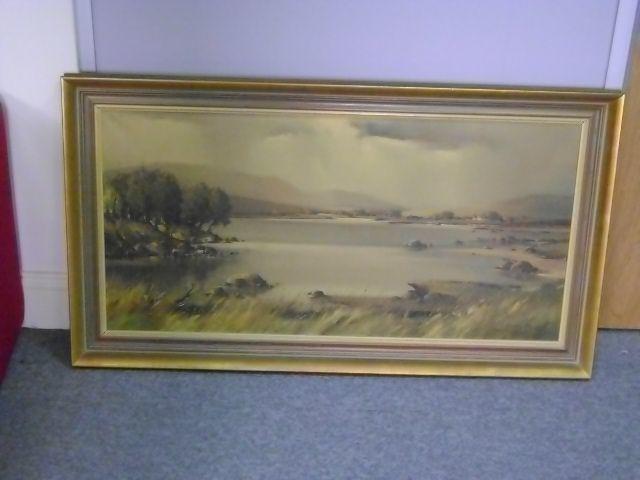 Arthur H. Twells (Irish) Connemara landscape