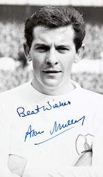 A collection of Tottenham Hotspurs photographs, many hand signed