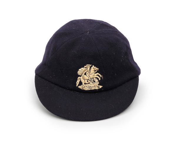 1954/55 M.C.C. cricket cap awarded to Len Hutton