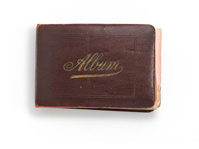1920's autograph book containing football teams