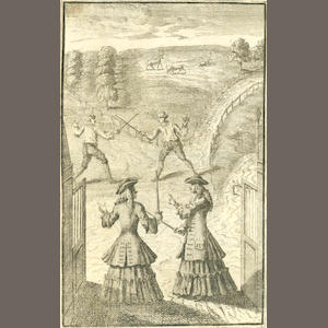 PLAYS CENTLIVRE (SUSANNA) The Beau's Duel: or, a Soldier For the Ladies, 1715; and 16 others, bound in 4 vol. (4)