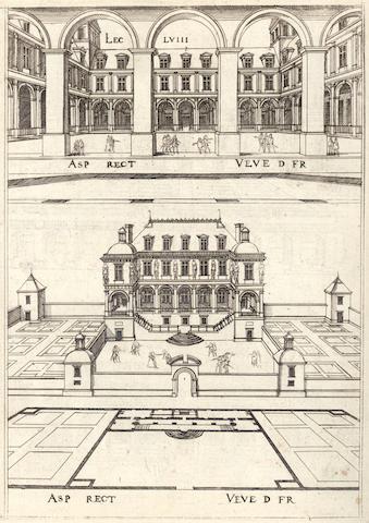 ANDROUET DU CERCEAU (JACQUES) Lecons de perspective positive, Paris, 1576