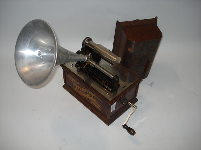 A Graphophone phonograph, type AT,