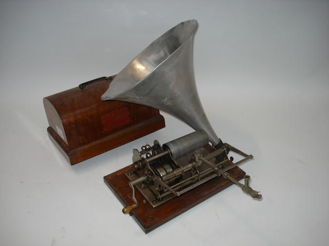 A Pathé Freres (London) Ltd. phonograph,