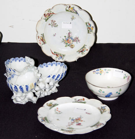 A reference collection of English porcelain, late 18th century