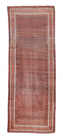 A Serabend khelleh, West Persia, 597cm x 226cm
